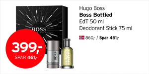 Hugo Boss Boss Bottled EdT og deodorant stick 399,- (spar 461,-)