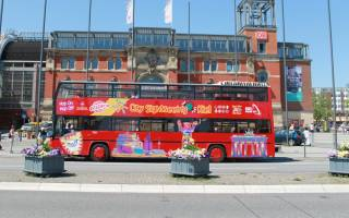 City Sightseeing i Kiel med buss