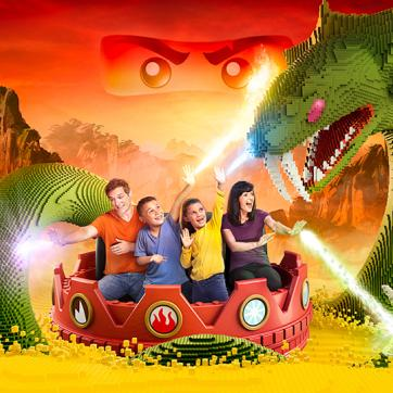 LEGO® NINJAGO® The Ride